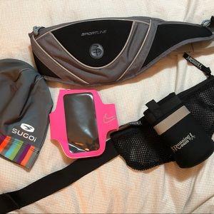 Bundle of running gear.